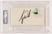 Tiger Woods Signed 1997 FDC Envelope (PSA Encapsulated)