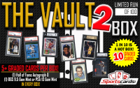 """THE VAULT 2"" All Graded/Encapsulated Mystery Box! 5+ GRADED CARDS PER BOX!"