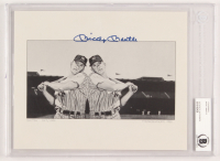 Mickey Mantle Signed New York Yankees 8x10 Lithograph (BGS Encapsulated) at PristineAuction.com