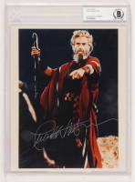 "Charlton Heston Signed ""The Ten Commandments"" 8x10 Photo (BGS Encapsulated) at PristineAuction.com"