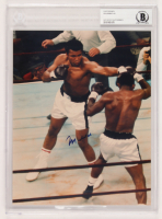 Muhammad Ali Signed 8x10 Photo (BGS Encapsulated) at PristineAuction.com
