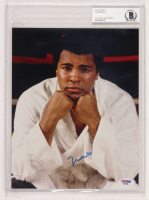 Muhammad Ali Signed 8x10 Photo (BGS Encapsulated & PSA Hologram) at PristineAuction.com