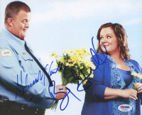 """Melissa McCarthy & Billy Gardell Signed """"Mike & Molly"""" 8x10 Photo (PSA COA) at PristineAuction.com"""