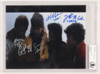 """The Goonies"" 8x10 Photo Cast-Signed by (4) with Sean Astin, Jeff Cohen, Corey Feldman & Ke Huy Quan with (4) Inscriptions (BAS Encapsulated)"