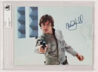 "Mark Hamill Signed ""Star Wars"" 8x10 Photo (BGS Encapsulated)"