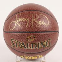Larry Bird Signed NBA Basketball (PSA COA)