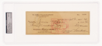 Vince Lombardi Signed 1961 Bank Check (PSA Encapsulated) at PristineAuction.com