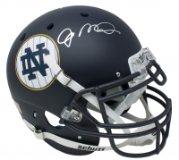 Joe Montana Signed Notre Dame Fighting Irish Matte Navy Full-Size Authentic On-Field Helmet (JSA COA)