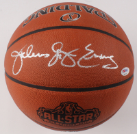"Julius ""Dr. J"" Erving Signed 2017 Official All-Star Game Basketball (PSA COA)"