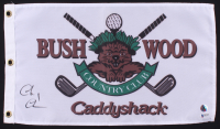 "Chevy Chase Signed ""Caddyshack"" Bushwood Country Club Pin Flag (Beckett COA & Chase Hologram) at PristineAuction.com"