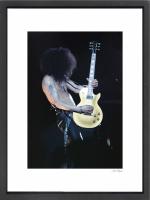 """Slash"" 24x30 Custom Framed Globe Hollywood Photo at PristineAuction.com"