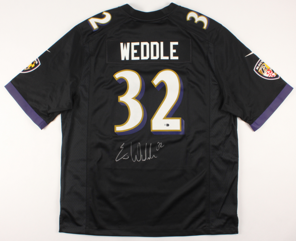 Eric Weddle Signed Baltimore Ravens Jersey (Fanantics Hologram ...