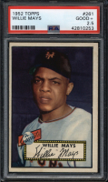 1952 Topps Baseball PSA Graded Set Break Mystery Box! 2 or 3 PSA Graded Cards Per Box at PristineAuction.com