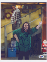 """Billy Gardell & Melissa McCarthy Signed """"Mike & Molly"""" 8x10 Photo (PSA COA) at PristineAuction.com"""