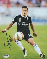 "Javier ""Chicharito"" Hernandez Signed Real Madrid 8x10 Photo (PSA COA) at PristineAuction.com"