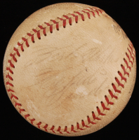 """Roberto Clemente Signed ONL Baseball Inscribed """"Best Wishes"""" (PSA LOA) at PristineAuction.com"""