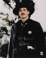 "Val Kilmer Signed ""Tombstone"" 16x20 Photo Inscribed ""Doc"" (Beckett COA) at PristineAuction.com"