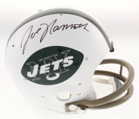 Joe Namath Signed New York Jets Full-Size Throwback Suspension Helmet (JSA COA)
