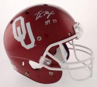 "Baker Mayfield Signed Oklahoma Sooners Full-Size Helmet Inscribed ""HT '17"" (Beckett COA)"