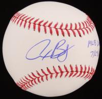 "Alex Bregman Signed OML Baseball Inscribed ""MLB Debut"" & ""7/25/16"" (JSA Hologram)"