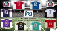 In Demand Autographs HOF Football Jersey Mystery Box #/75 at PristineAuction.com