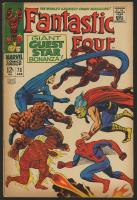 "1967 ""Fantastic Four"" Issue #73 Marvel Comic Book"