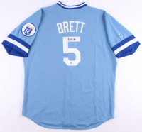 George Brett Signed Kansas City Royals Jersey (Beckett COA)