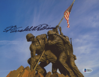 "Hershel W. Williams Signed ""Raising the Flag on Iwo Jima"" 8x10 Photo (Beckett COA) at PristineAuction.com"