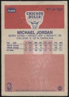 1986-87 Fleer #57 Michael Jordan RC at PristineAuction.com