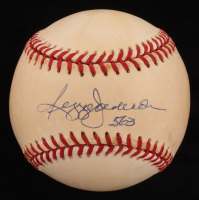 "Reggie Jackson Signed OAL Baseball Inscribed ""563"" (JSA COA)"