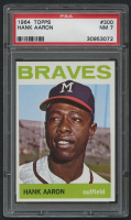 1964 Topps #300 Hank Aaron (PSA 7) at PristineAuction.com