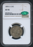 1895-O 25¢ Barber Quarter (NGC XF 45) at PristineAuction.com