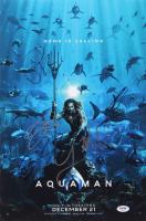 """Aquaman"" 12x18 Photo Signed by (5) with Jason Momoa, James Wan, Patrick Wilson, Yahya Abdul-Mateen II (PSA Hologram) at PristineAuction.com"