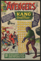 "1964 ""The Avengers"" Issue #8 Marvel Comic Book at PristineAuction.com"