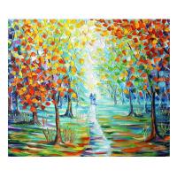 """Svyatoslav Shyrochuk Signed """"Summer Delight"""" 24x20 Original Oil on Canvas"""