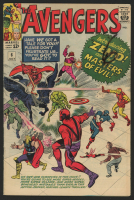 "1964 ""The Avengers"" Issue #6 Marvel Comic Book at PristineAuction.com"