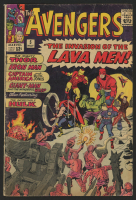 "1964 ""The Avengers"" Issue #5 Marvel Comic Book"