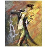 "Lena Sotskova Signd ""Allegro II"" 20x16 Original Painting, Oil on Canvas at PristineAuction.com"