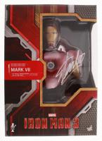 Stan Lee Signed Marvel Iron Man Mark VII Hot Toys 1:4 Scale Bust (Lee Hologram) at PristineAuction.com