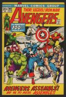 """1972 """"The Avengers"""" Issue #100 Marvel Comic Book"""