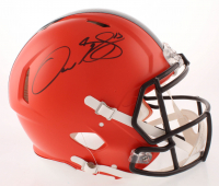 Odell Beckham Jr. Signed Cleveland Browns Full-Size Authentic On-Field Speed Helmet (JSA COA)