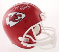 Tony Gonzalez Signed Kansas City Chiefs Full-Size Helmet (JSA COA)