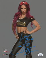 "Sasha Banks Signed WWE 8x10 Photo Inscribed ""Legit Boss"" (JSA COA)"