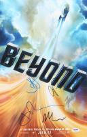 """Star Trek Beyond"" 11x17 Photo Cast-Signed by (5) with J. J. Abrams, Zachary Quinto, Chris Pine, John Cho & Michael Giacchino (PSA LOA) at PristineAuction.com"
