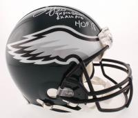 "Brian Dawkins Signed Philadelphia Eagles Full-Size Authentic On-Field Helmet Inscribed ""9x Pro Bowl"", ""6x All Pro"" & ""HOF 18"" (JSA COA)"