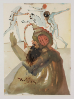 "Salvador Dali LE ""Vol. 2 The Biblia Sacra: Losephet Fratres in Aegypto 1967 Rizzoli Editions Italy"" 14x19 Lithograph at PristineAuction.com"