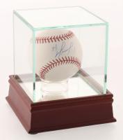 David Ortiz Signed OML Baseball with High-Quality Display Case (Beckett COA)