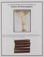 """Salvador Dali LE """"Vol. 2 The Biblia Sacra: Peccatum Originis 1967 Rizzoli Editions Italy"""" 14x19 Lithograph at PristineAuction.com"""