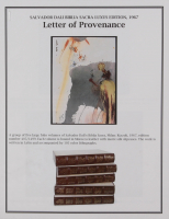 "Salvador Dali LE ""Vol. 2 The Biblia Sacra: De Petra Exivit Aqua 1967 Rizzoli Editions Italy"" 14x19 Lithograph at PristineAuction.com"