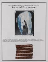 """Salvador Dali LE """"Vol. 2 The Biblia Sacra: Leremiae Prohetia Contra Regem Loachin 1967 Rizzoli Editions Italy"""" 14x19 Lithograph at PristineAuction.com"""